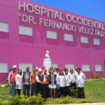 Hospital Occidental de Managua en su etapa final de construcción y equipamiento